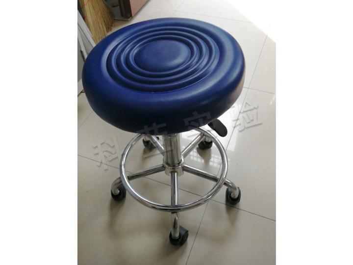 液压升降小圆凳含带轮